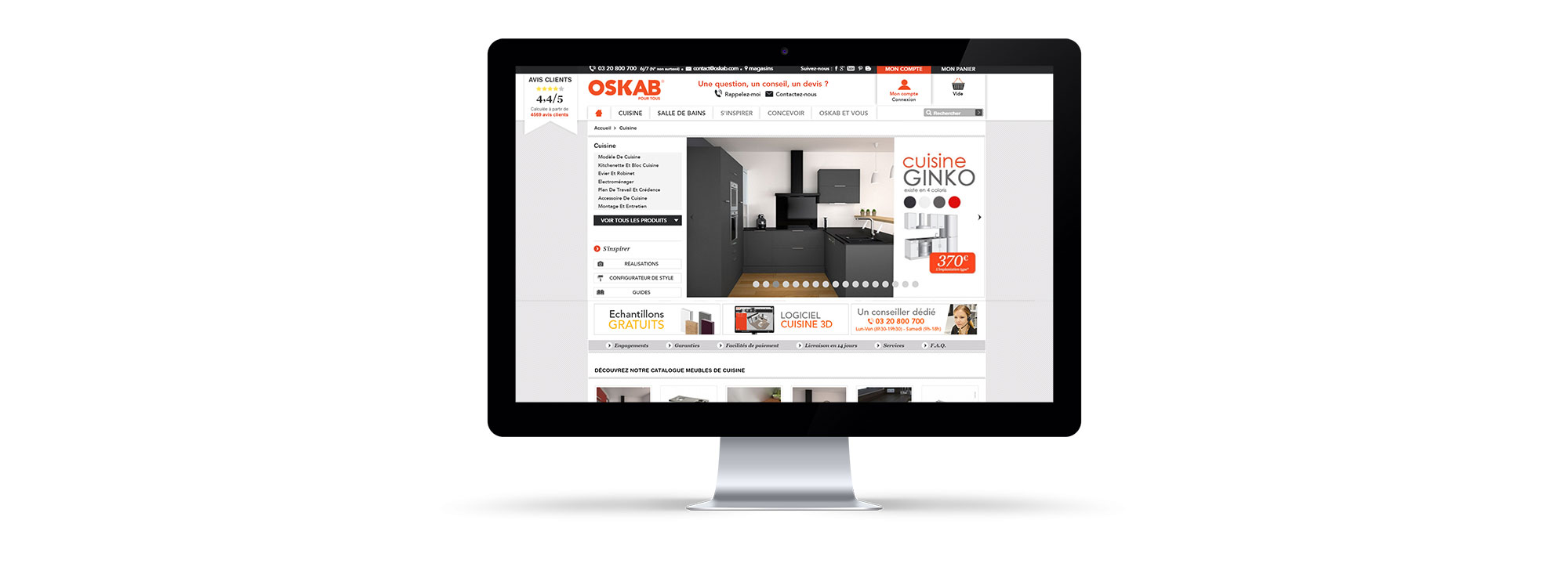 oskab portailpro site internet prestashop