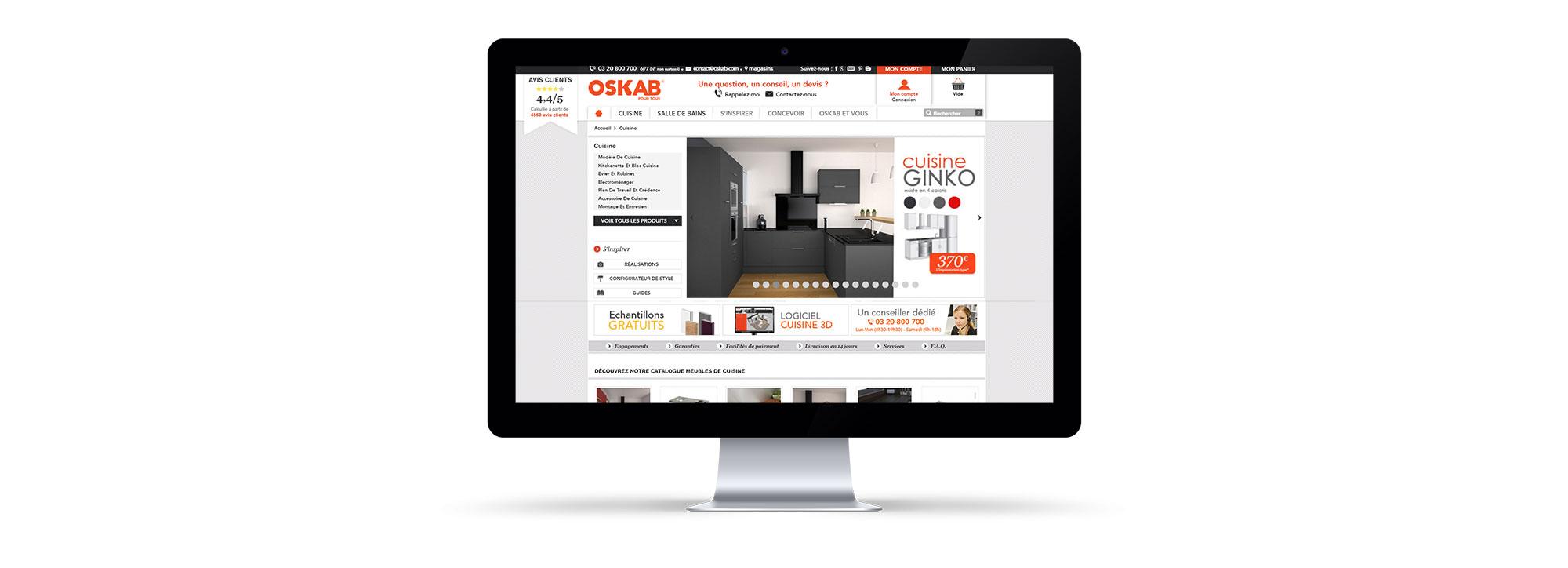 oskab portailpro site internet prestashop with oskab cuisine 3d. Black Bedroom Furniture Sets. Home Design Ideas