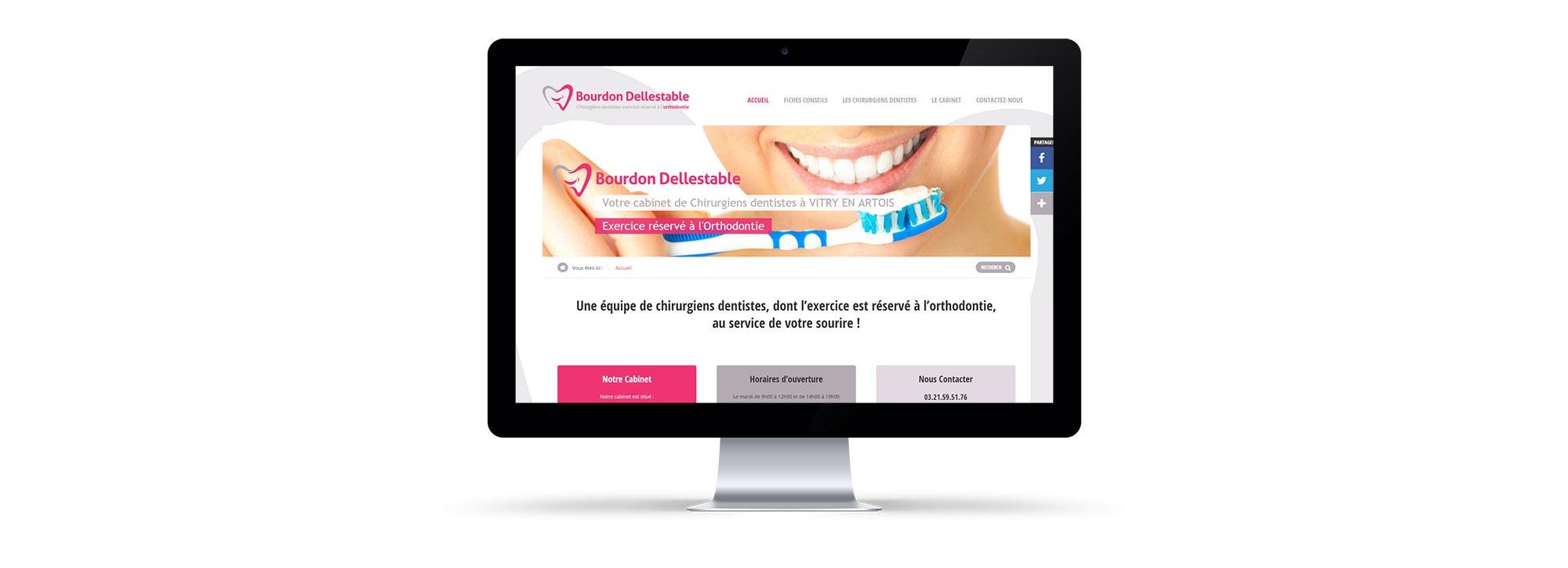 portail pro creation site internet wordpress bourdon delestable
